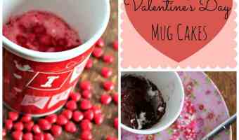 3-2-1 Weight Watchers Valentine's Days Mug Cakes #12DaysOf