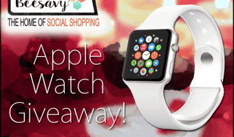 Win an Apple Watch + a $50 bonus from @BeeSavy #BeeSavy