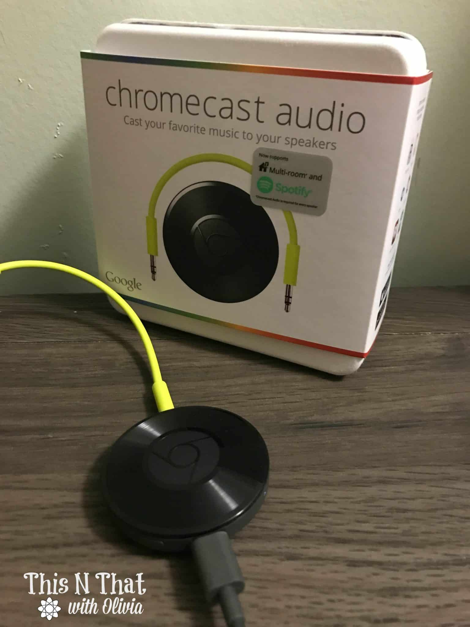 Google Chromecast Audio Available at Best Buy @BestBuy @Chromecast #Ad