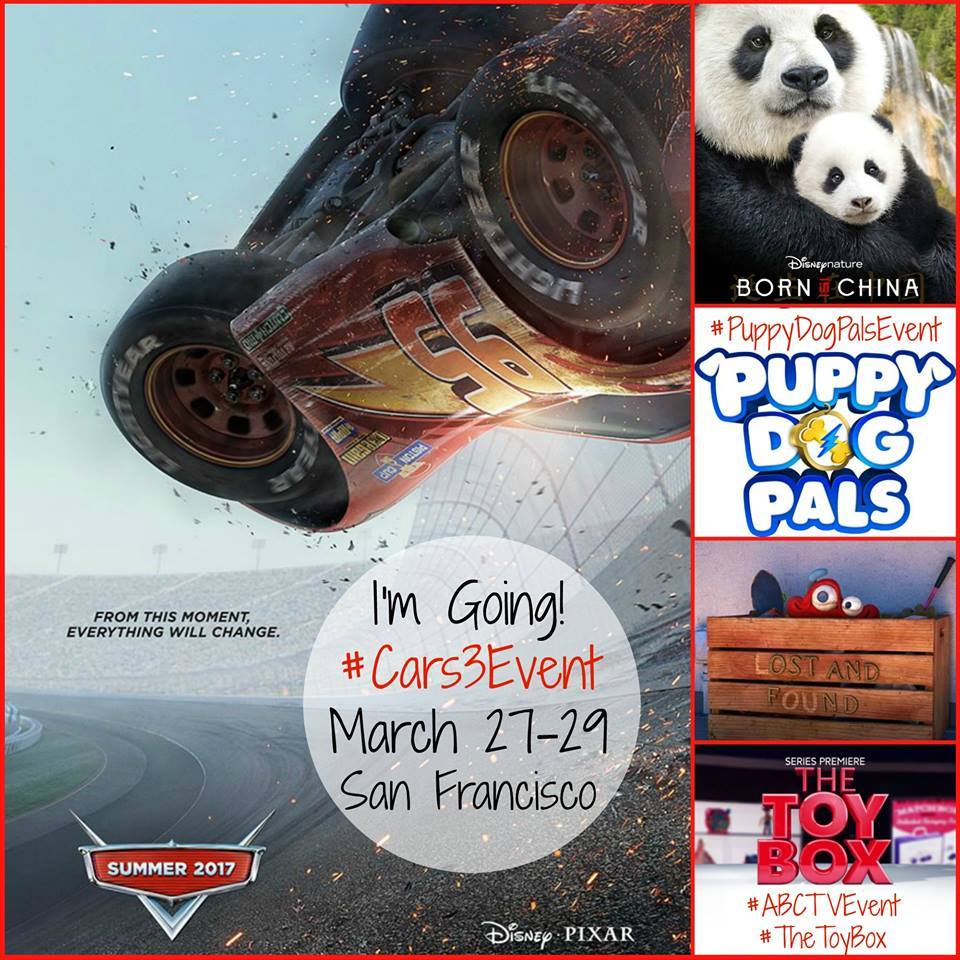I'm Going to San Francisco for the #Cars3Event + More! #ABCTVEvent #TheToyBox #PuppyDogPalsEvent