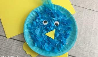 Bluebird Plate Craft