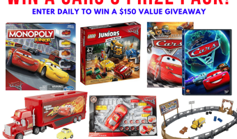 Win a Cars 3 Prize Pack #Cars3 | #THBGiveaway