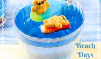 Beach Days Jello Cups #12daysof