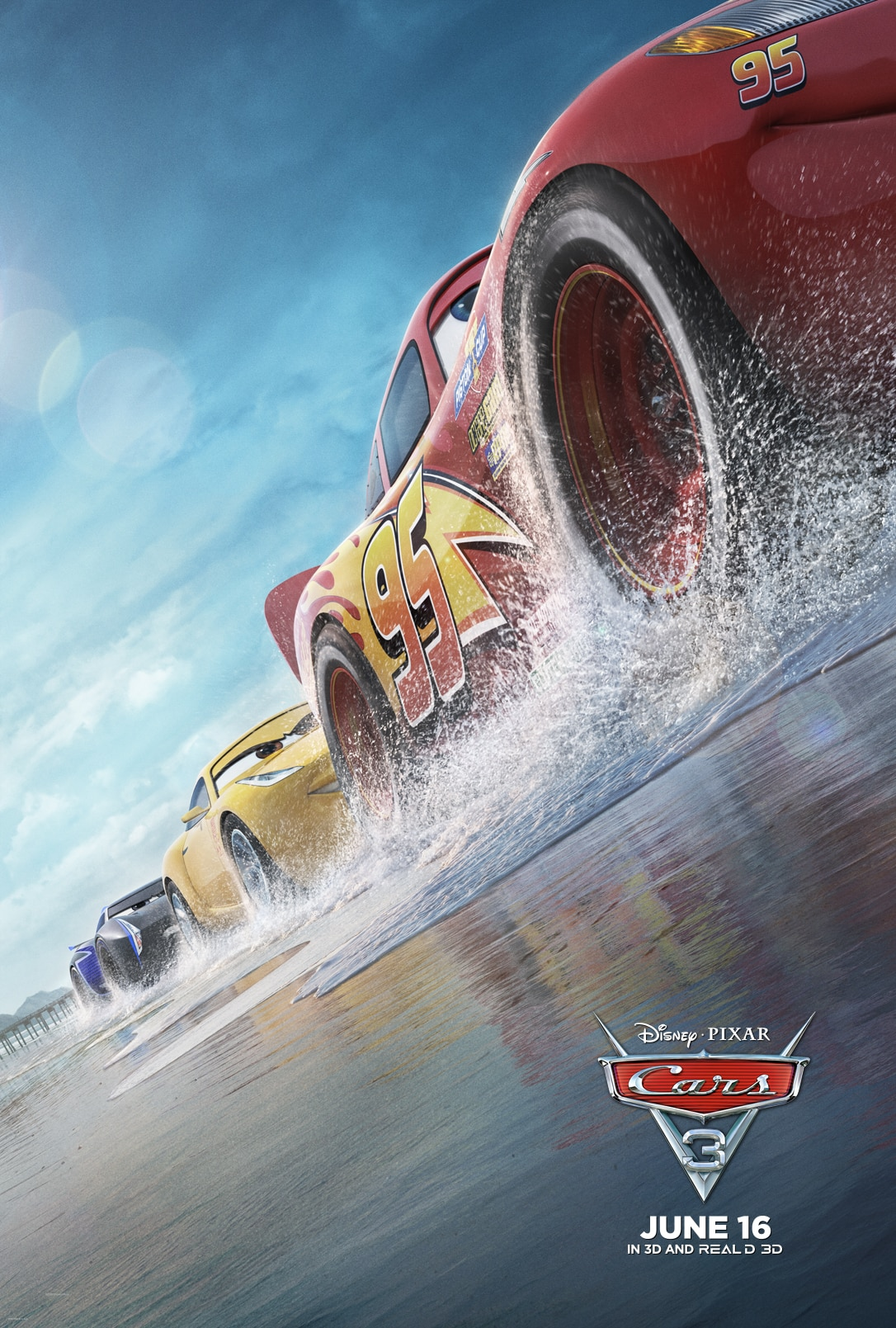 Free coloring pages cars 3 - Cars 3 Lou In Theaters Today Free Cars 3 Coloring Sheets