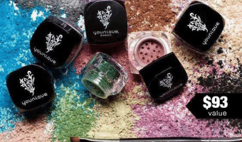 Win 6 Mystery Younique Mineral Pigment Eye Colors and a Liner/Shader Brush #BackyardWins #THBhop