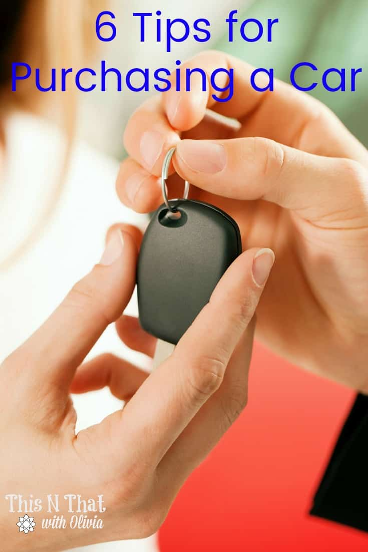 6 Tips for Purchasing a Car