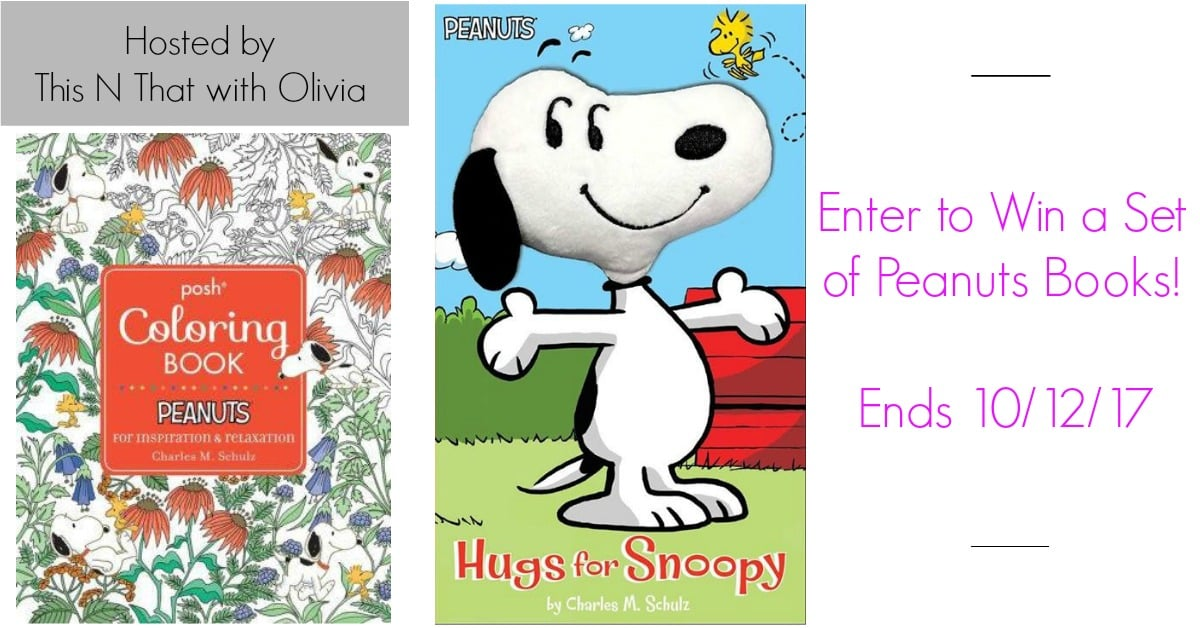 Win a Peanuts Coloring Book + Kid\'s Book! #PeanutsAmbassador