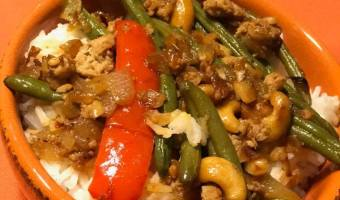 Asian Turkey and Green Beans Recipe #EasyDinners