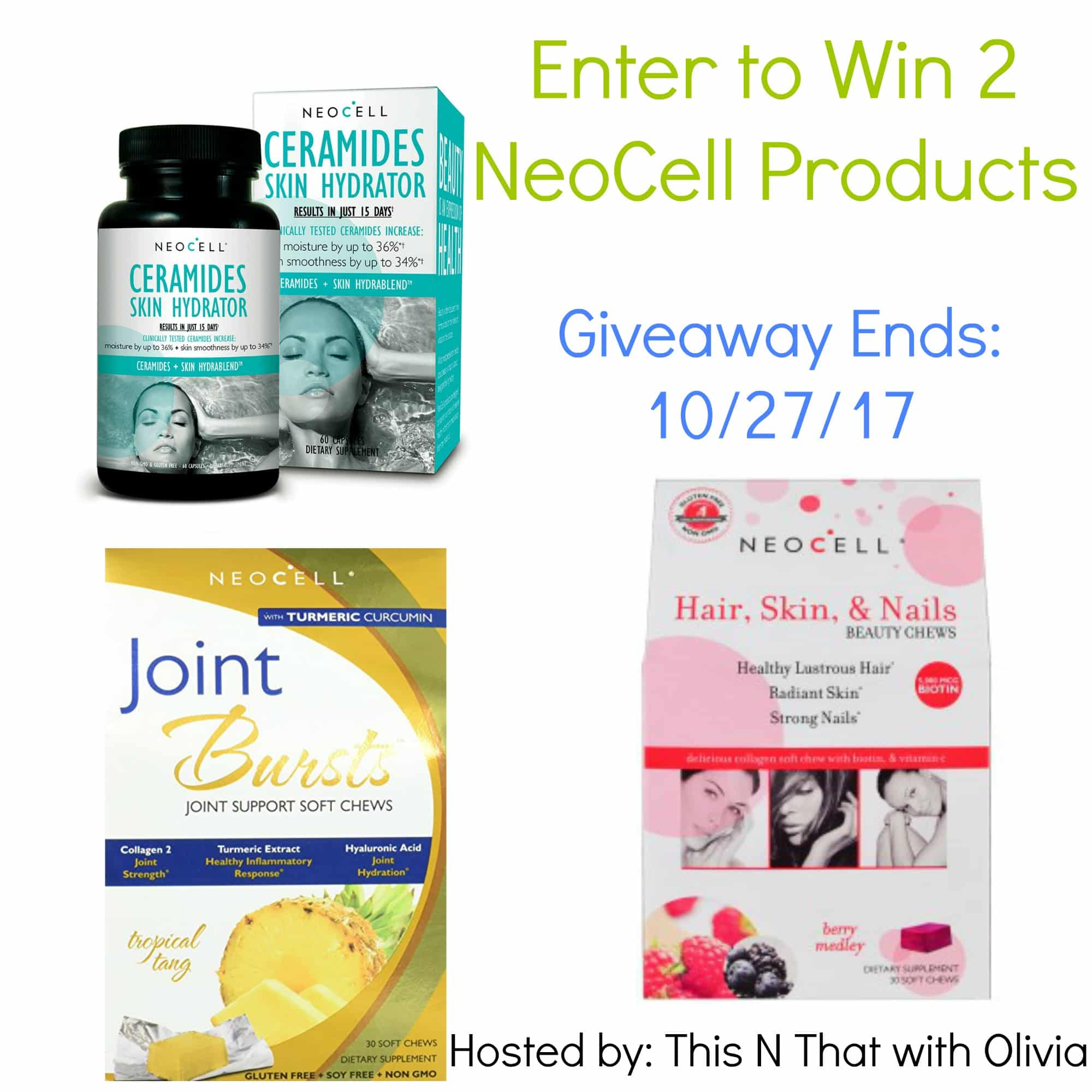 Healthy Skin & Joints with Neocell Review + Giveaway!