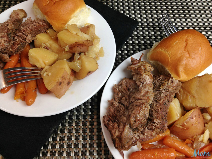 Pressure Cooker Pot Roast with Vegetables #EasyDinners