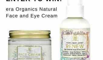 Enter to win era organics Natural Face and Eye Cream #Holiday2017