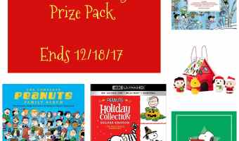Enter to Win a Peanuts Holiday Package! #PeanutsBrandAmbassador (Ends 12/18)