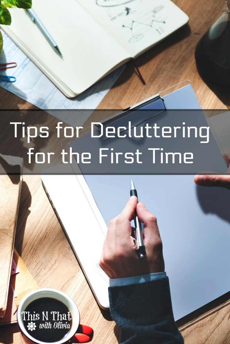 Tips for Decluttering for the First Time