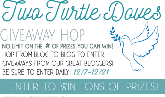 Enter the Two Turtle Doves Giveaway Hop #TwoTurtleDoves #THBhop