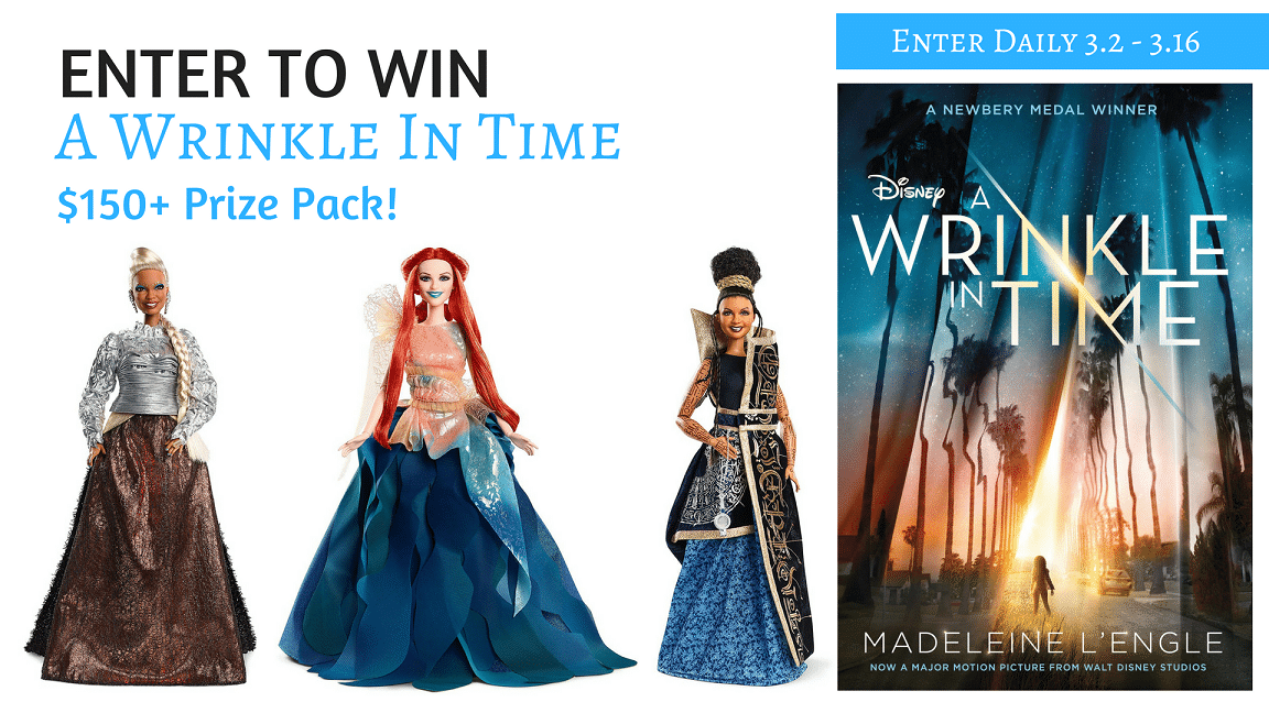 Enter to Win a $200 A Wrinkle In Time Prize Pack!! #AWrinkleInTime