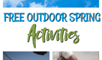 FREE Outdoor Spring Activities #Spring #Outdoors #Activities #Family #Fun
