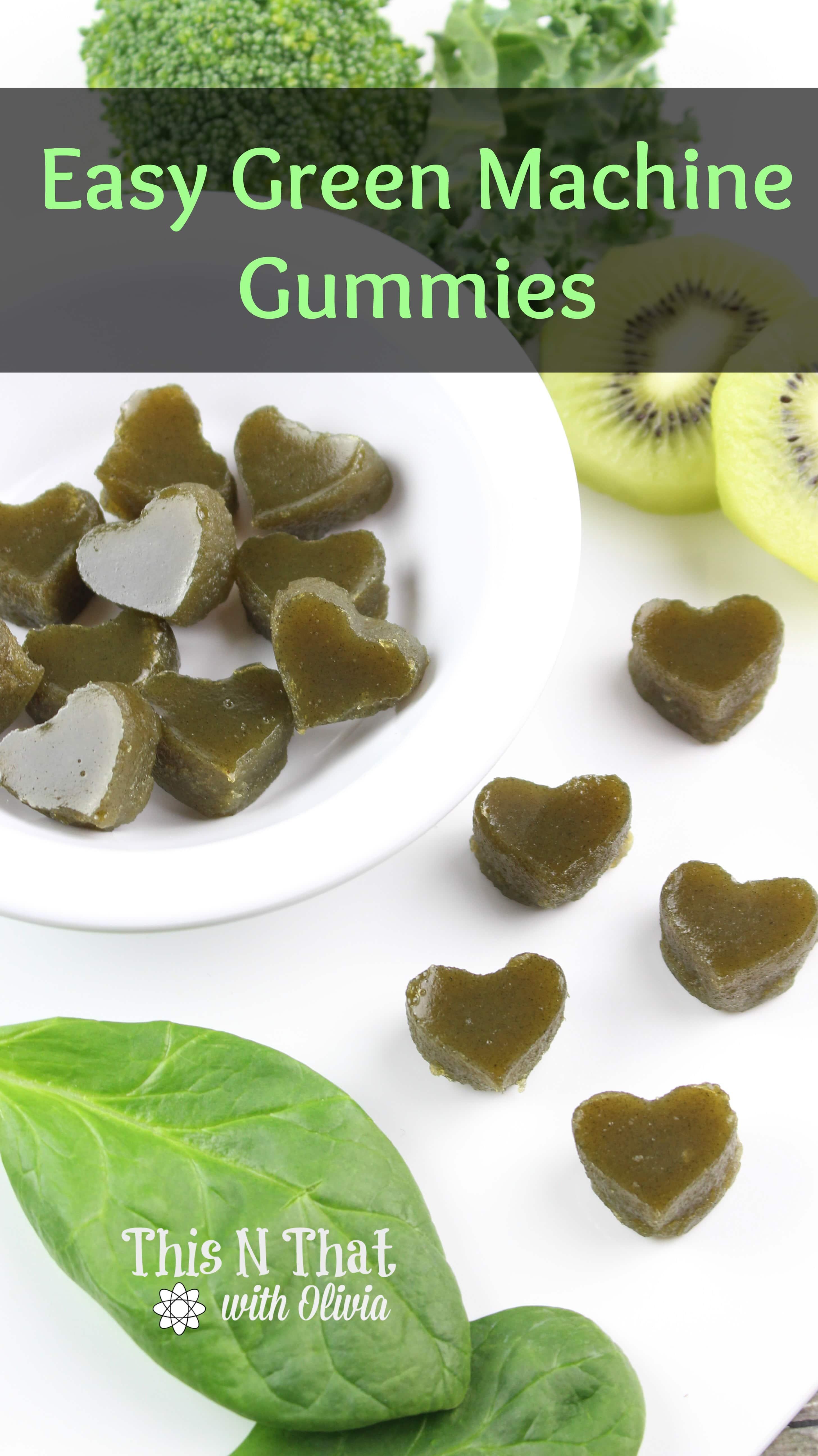 Easy Green Machine Gummies