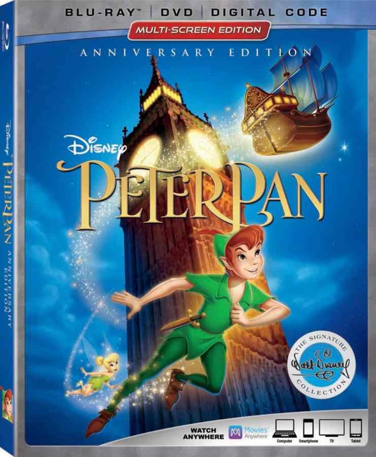 Disney's Peter Pan Celebrates 65 Years + The Signature Collection Release!! #PeterPanBluray #HanSoloEvent