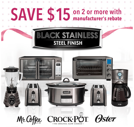Great Mother's Day Gifts from the Black Stainless Steel Suite Kitchen Appliance Collection! #SaveOnMothersDay #ad