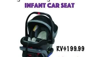 Win a Graco SnugRide SnugLock Infant Car Seat! (Ends 5/6)