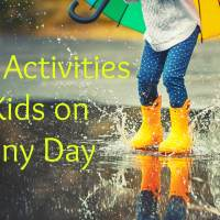 14 Fun Activities for Kids on a Rainy Day
