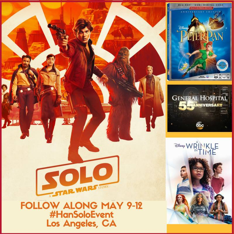 I'm Heading to the SOLO: A STAR WARS STORY Premiere + More! #HanSoloEvent #PeterPanBluray