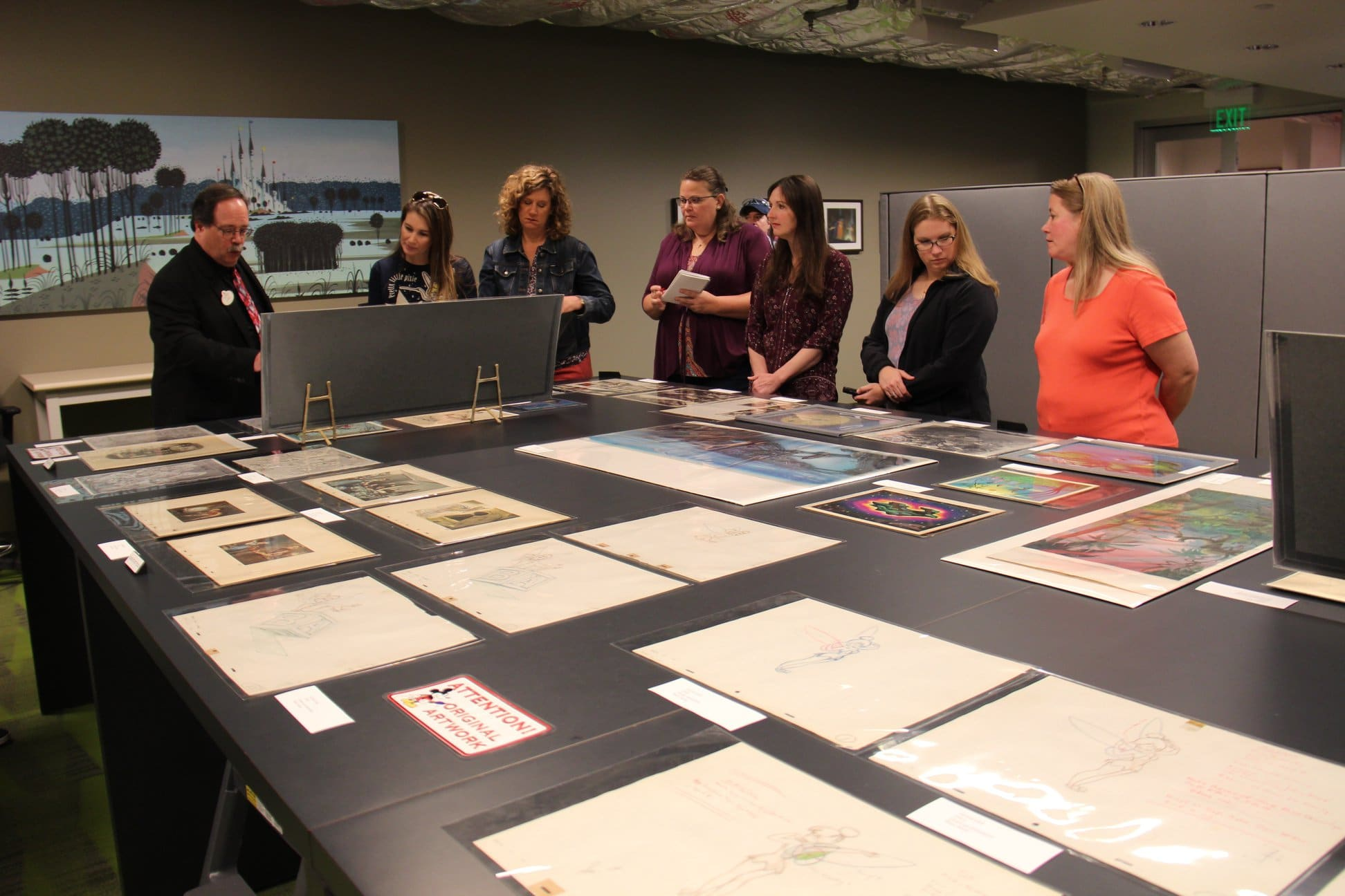 Exclusive Tour of the Animation Research Library! #PeterPanBluray