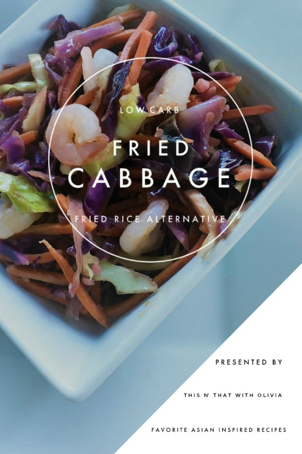 Asian Shrimp Fried Cabbage Recipe