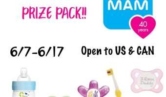 Enter to Win a $50 MAM Prize Pack! (Ends 6/17)
