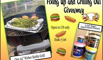 Fixing Up and Grilling Out Giveaway (Ends 7/26)