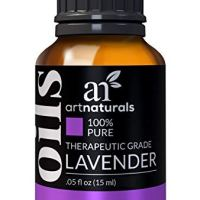 ArtNaturals 100% Pure Lavender Essential Oil - (.5 Fl Oz / 15ml) - Premium Undiluted Therapeutic Grade Natural From Bulgaria - Sleep, Relaxation