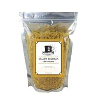 BEESWAX PELLETS, YELLOW, 1lb-Cosmetic Grade-Triple Filtered Beeswax. Must Have For Many Different Projects