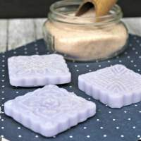 DIY Exfoliating Pink Himalayan Salt Essential Oil Soaps