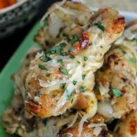 Instant Pot Garlic Parmesan Wings