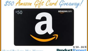 Enter to Win a $50 Amazon Gift Card (Ends 10/8)