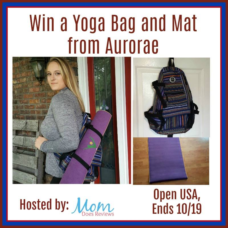 Win a Yoga Bag and Mat from Aurorae Yoga (Ends 10/19)