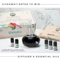 Danau Dua Nebulizing Diffuser & Nature's Aid Box Set of Essential Oils Giveaway (APV $100)