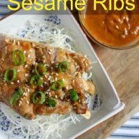Instant Pot Sesame Ribs