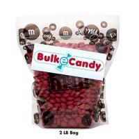 MY M&M'S Red M&M'S Bulk Candy Bag (2lb)