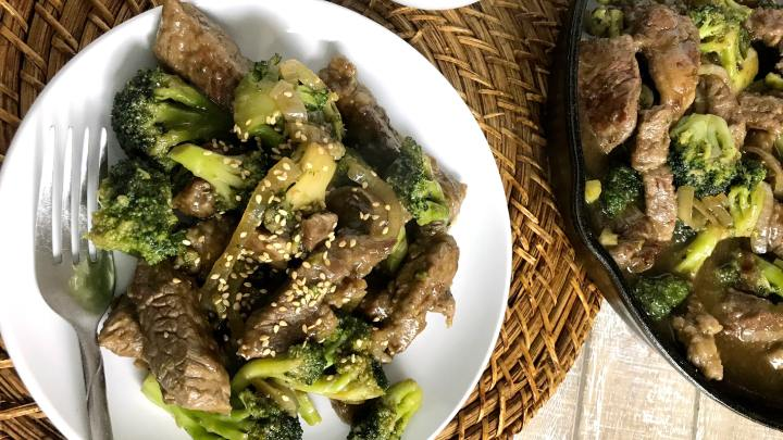 Beef with Broccoli Stir Fry (Gluten, Sugar and Soy Free)!