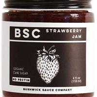 Bushwick Sauce Company Organic, Strawberry Jam (Total Of 4 FL Oz.)