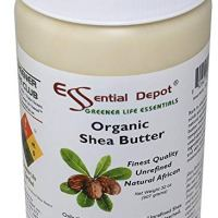 Shea Butter - 32 Oz. - 2 lbs - Organic - Premium Unrefined - In resealable HDPE Jar