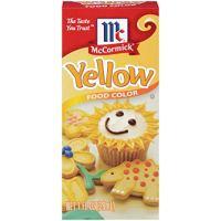 Yellow Food Coloring
