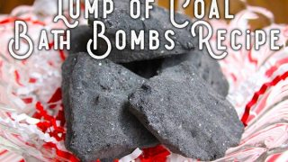 Lump of Coal Bath Bombs