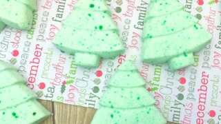 Christmas Tree Bath Fizzies