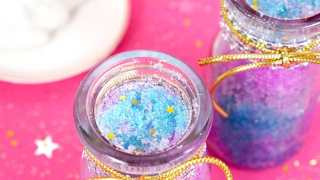 DIY Unicorn Sugar Scrub