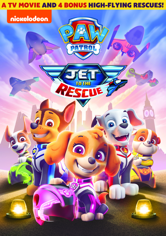 PAW PATROL: Jet to the Rescue DVD
