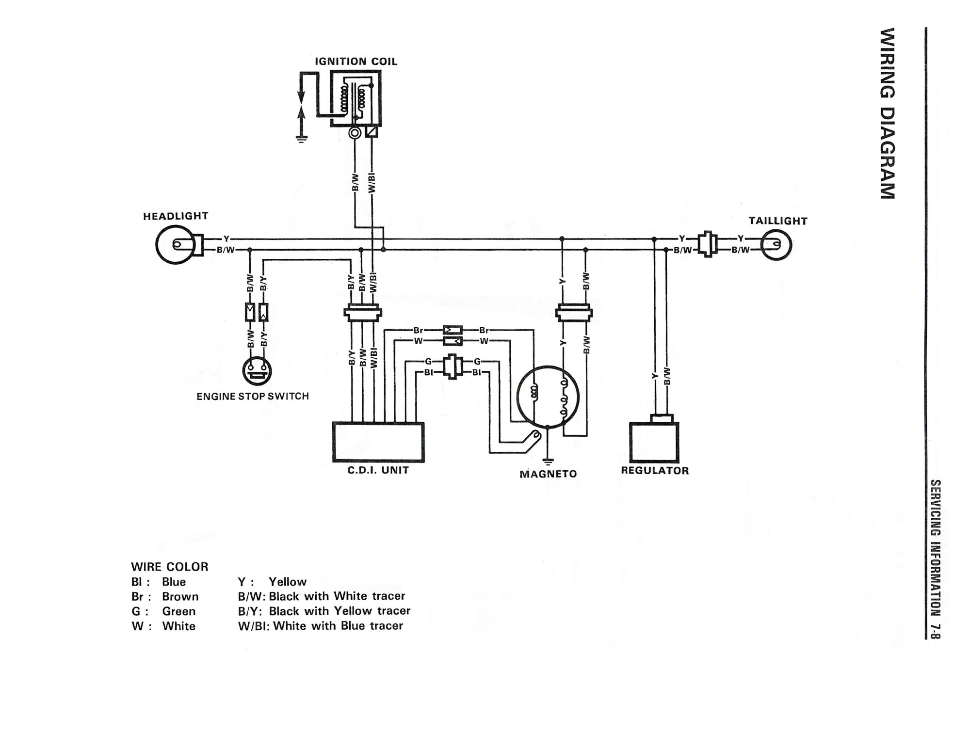 hight resolution of wiring diagram for the dr350 1990 and later models suzuki parts basic wiring suzuki
