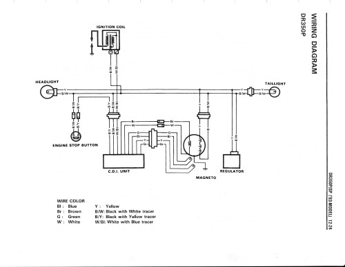 small resolution of dr250 wiring diagram wiring diagram img suzuki dr 250 wiring diagram dr250 wiring diagram