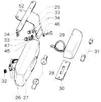 Wiring harnesses for the Moto Guzzi 850 T3 California